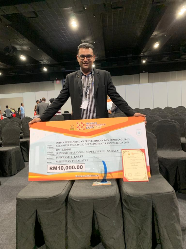 INTROP, UPM Researcher Strikes 1st Place at MITEC, Selangor